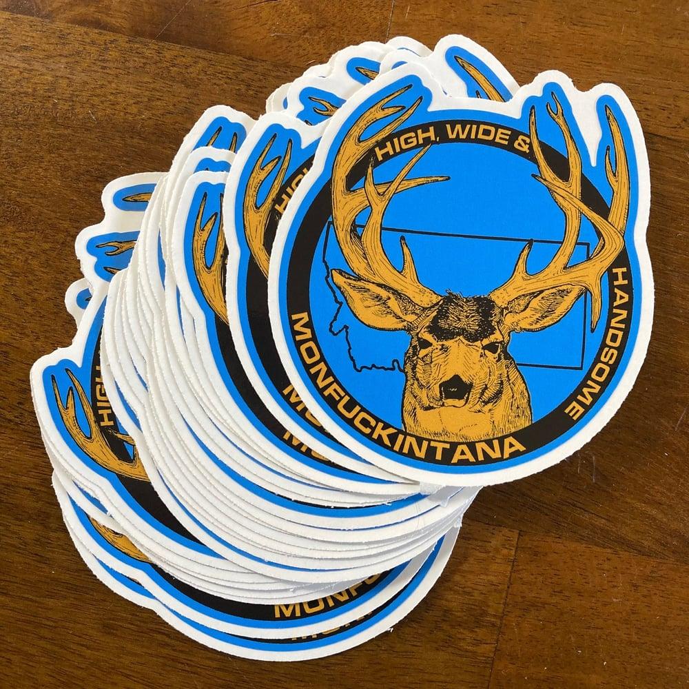 Image of New! Muley Sticker
