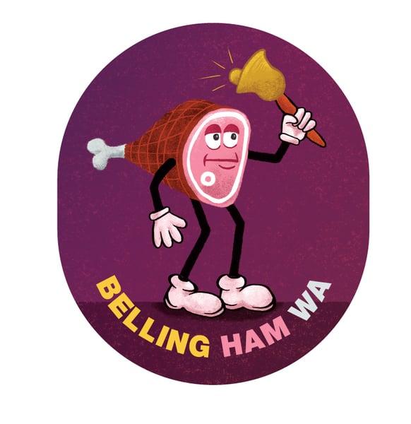 Image of Bellingham Ham Sticker