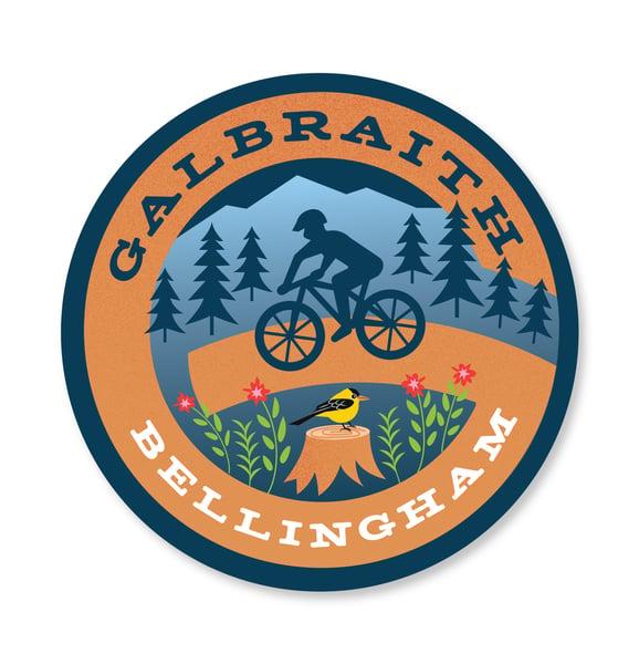 Image of Galbraith Bike Sticker