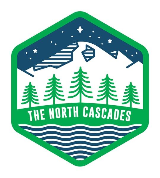 Image of North Cascades Sticker