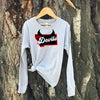 Youth Red Devils Long Sleeve -Grey