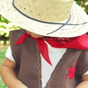 Image of cowboy/girl party kit