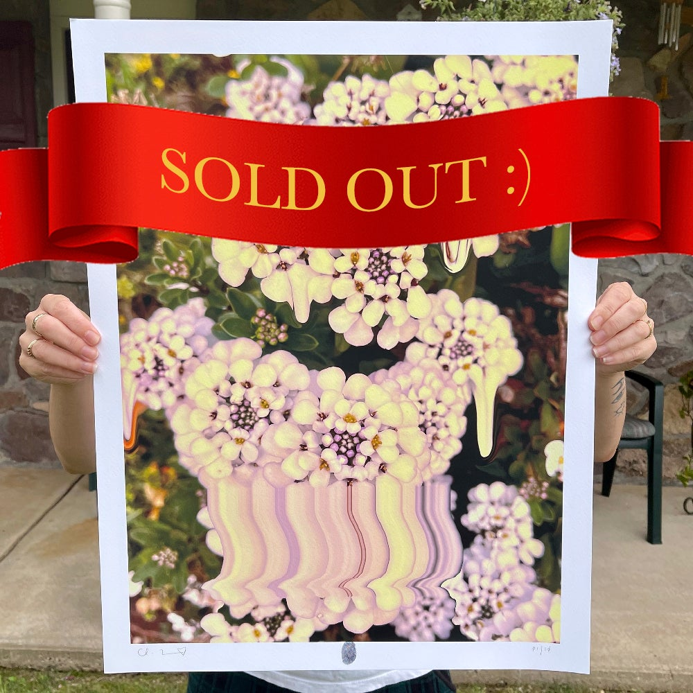 Image of Flowers Against Humanity 009 Limited Edition Giclée Fine Art Print