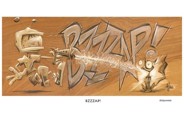 Image of BZZZZAP!!! Art Print