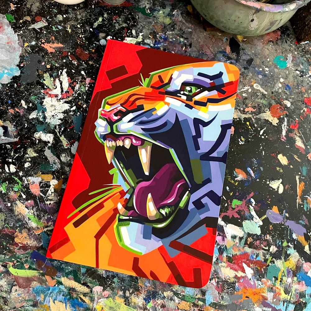 Soft-Cover Sketchbook - Tiger