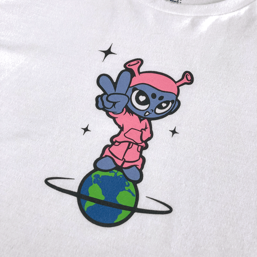 Image of Girl On The World T-Shirt