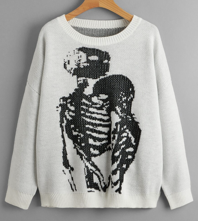 Image of Skull Love Knit Sweater
