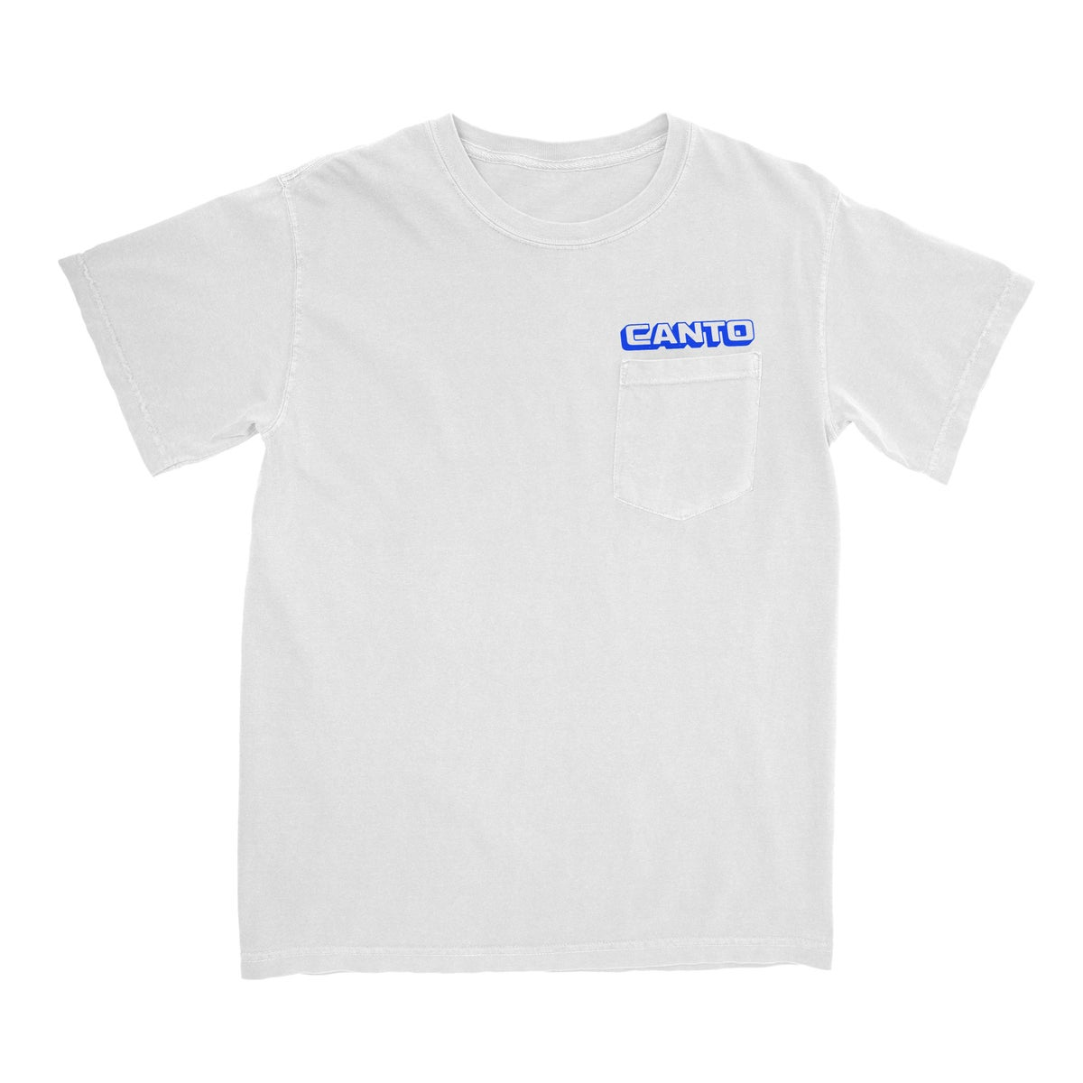 Image of Support Locals Pocket Tee - White