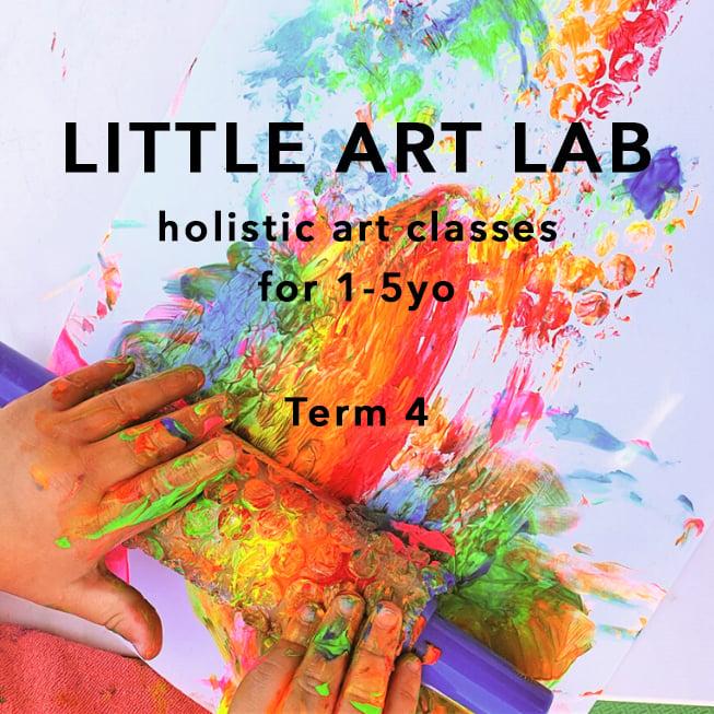 Image of Little Art Lab term 4