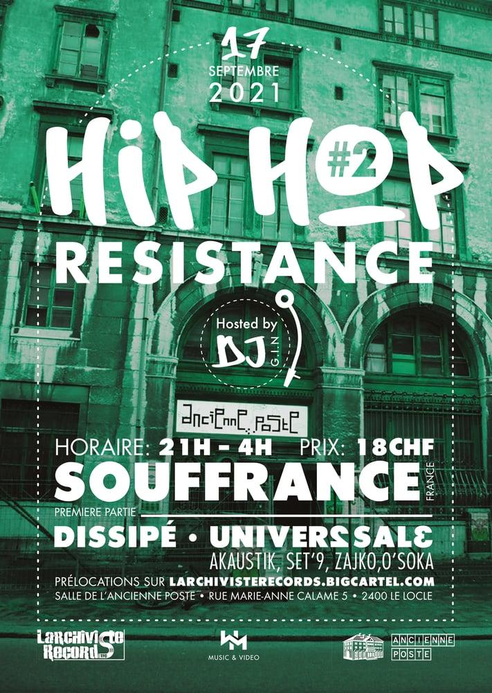 Image of Hip-Hop Resistance #2 17 Septembre @Live Souffrance