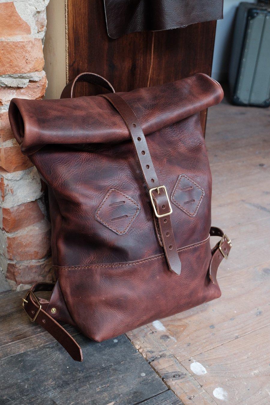 Image of Old Dutch rolltop backpack