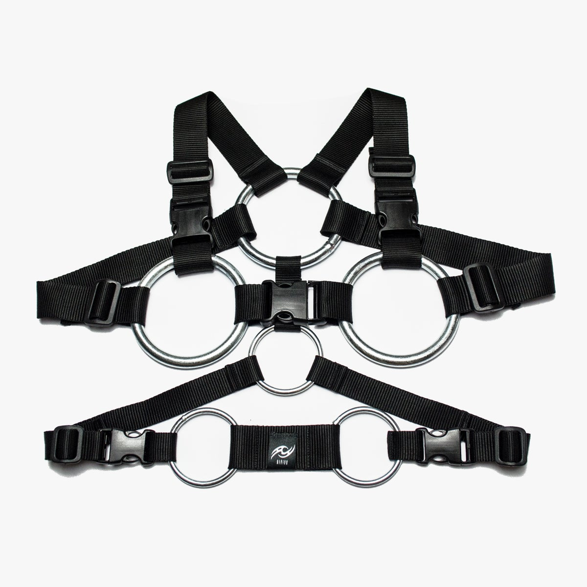 Image of TACTICAL HARNESS A01 - BLACK