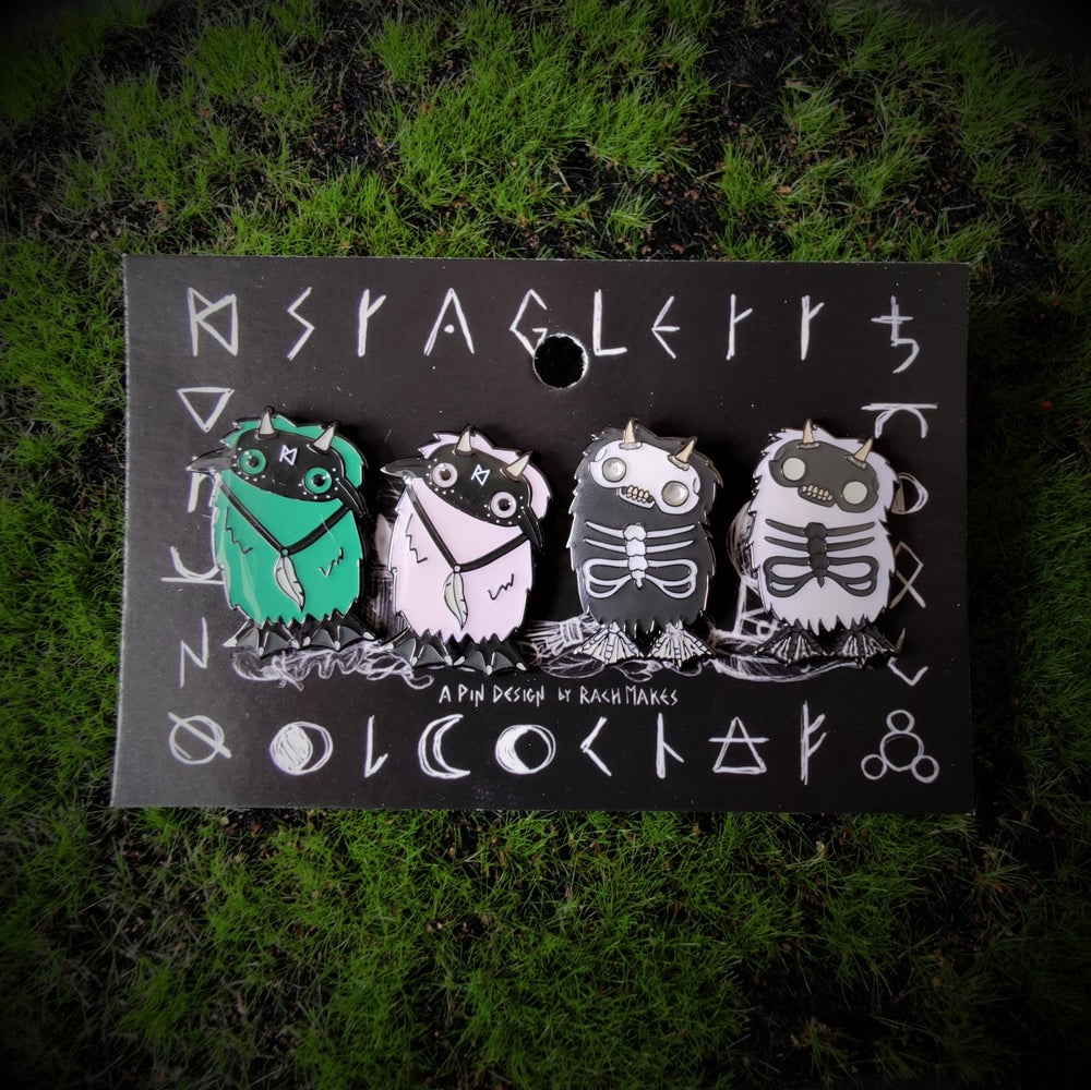Image of Staglett and Skellie Pins