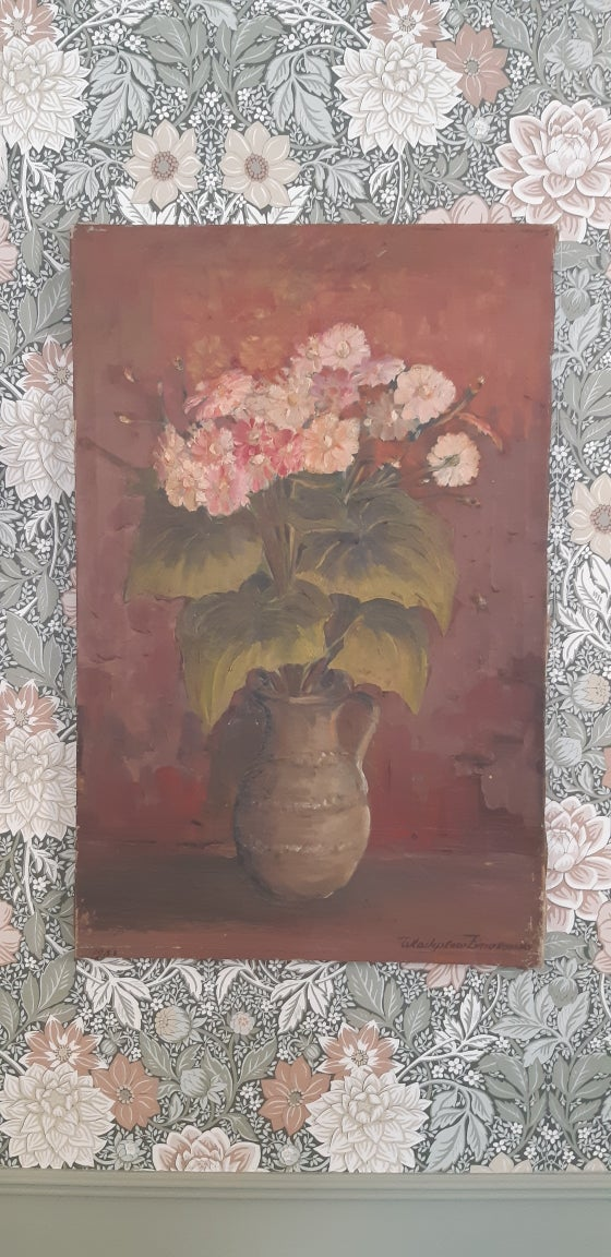 Image of Ancienne huile sur toile