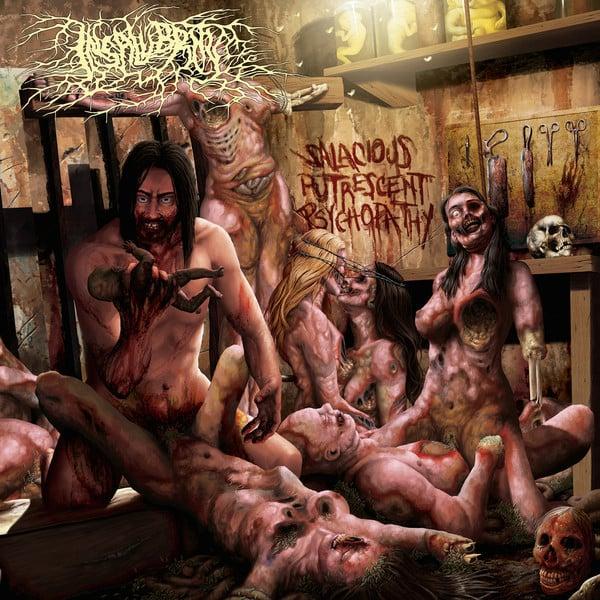 Image of INSALUBRITY - Salacious Putrescent Psychopathy CD