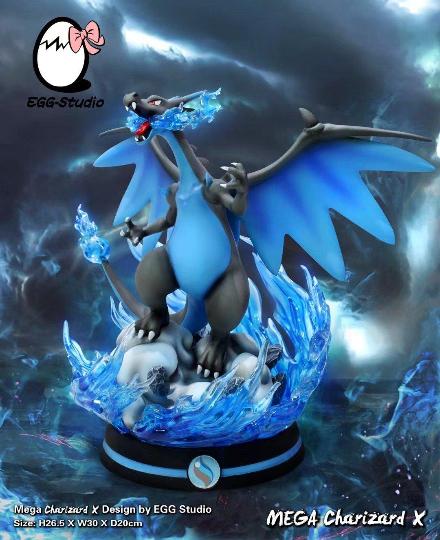 Image of [Pre-Order] Pokemon Egg Studio Mega Charizard X Resin Statue