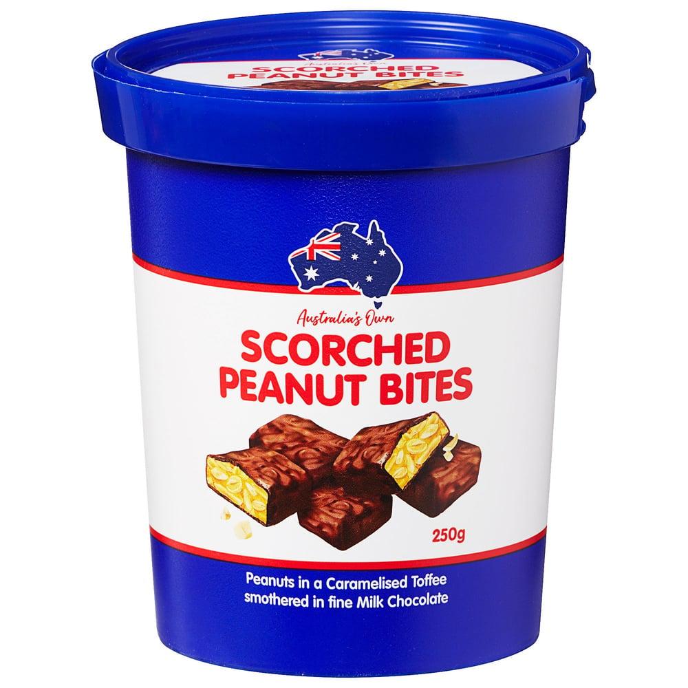 Image of Scorched Peanut Bites Tub 250g
