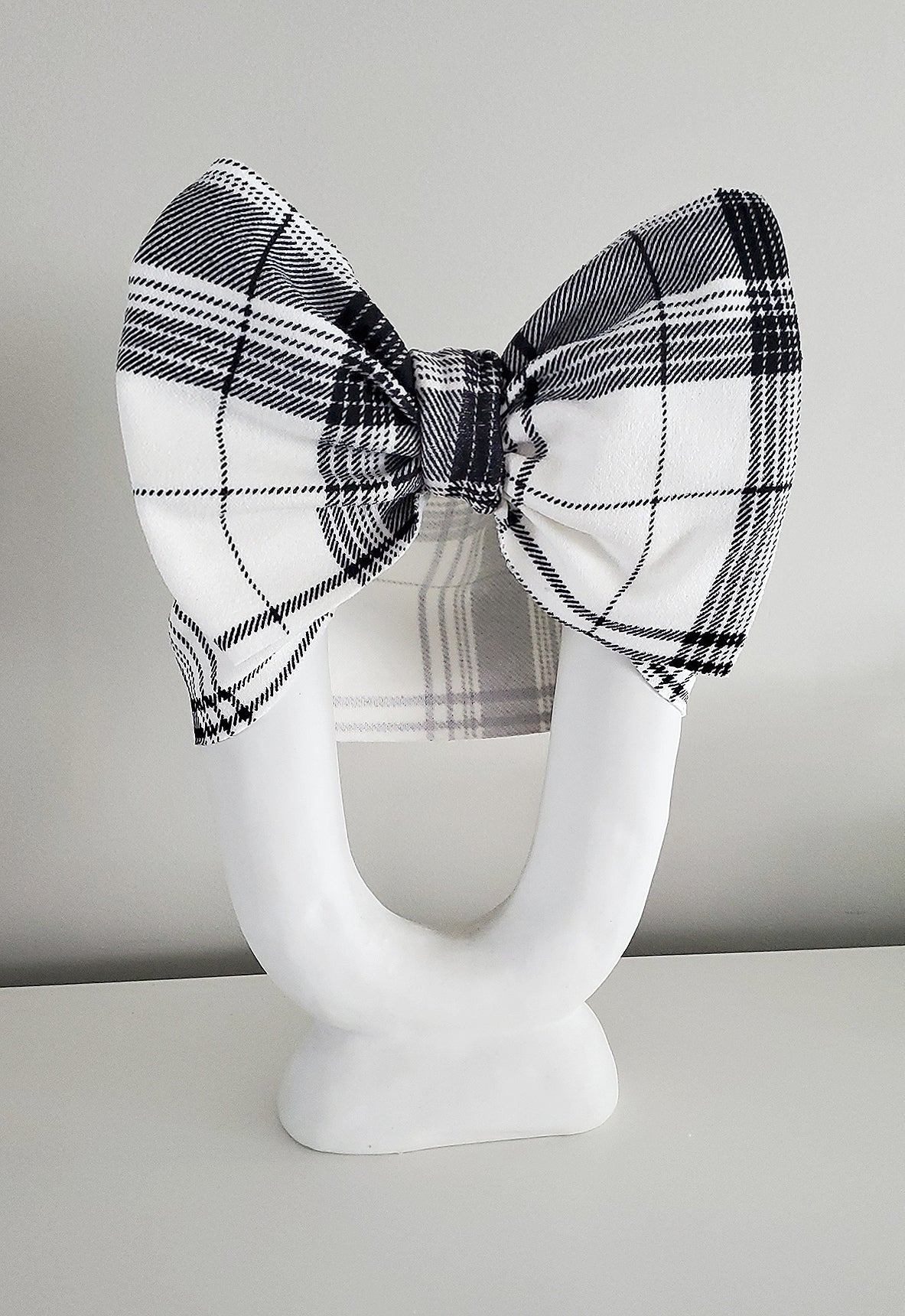 Image of Back to school headwrap bow