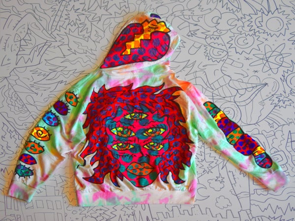 """Image of """"Creation Collection"""" Hoody 1/1 LARGE"""