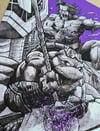 Donatello/beast team up fine art giclee print