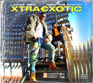 """Image of NEEK THE EXOTIC FEATURING LARGE PRO """"XTRAEXOTIC"""" CD (digipak) LIMITED"""