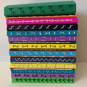 Image of 1, 2, 3 Stitched Notebooks - Series 1 - ONLINE -