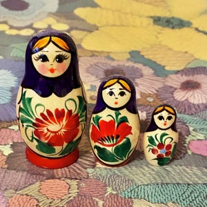 Image of Traditional Babushka Dolls