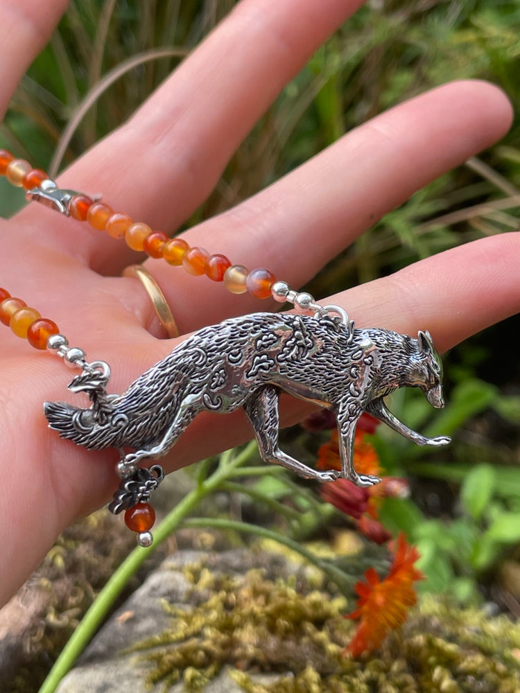Image of Autumn Fox Necklace