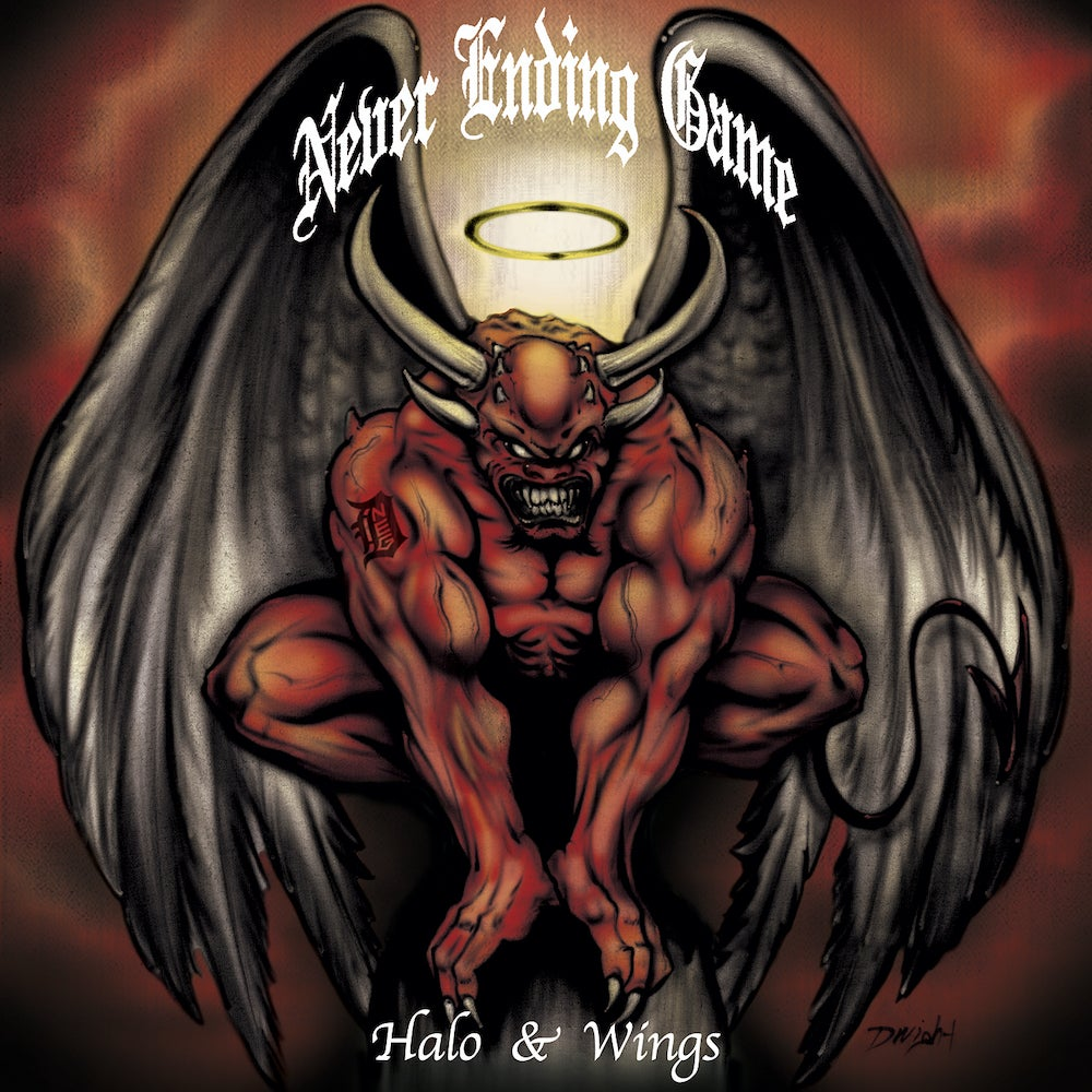 """Image of Never Ending Game """"Halo & Wings"""" 7"""""""