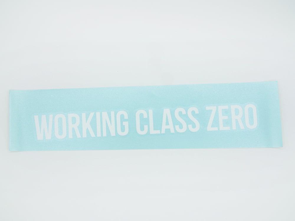 Image of Standard Words Transfer Sticker (WHITE)