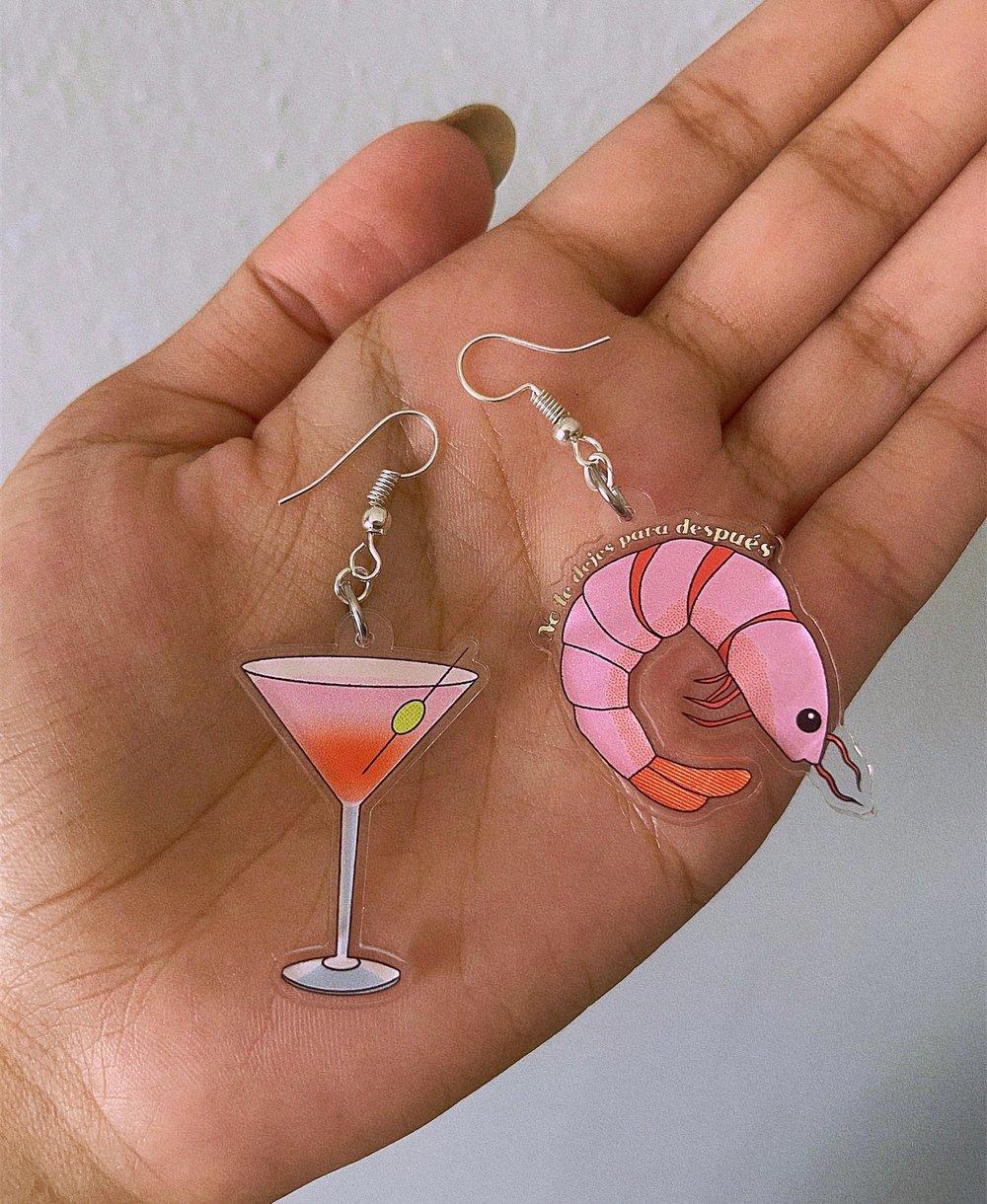 Image of Está Camarón earrings
