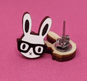 Image of Bunny Earrings