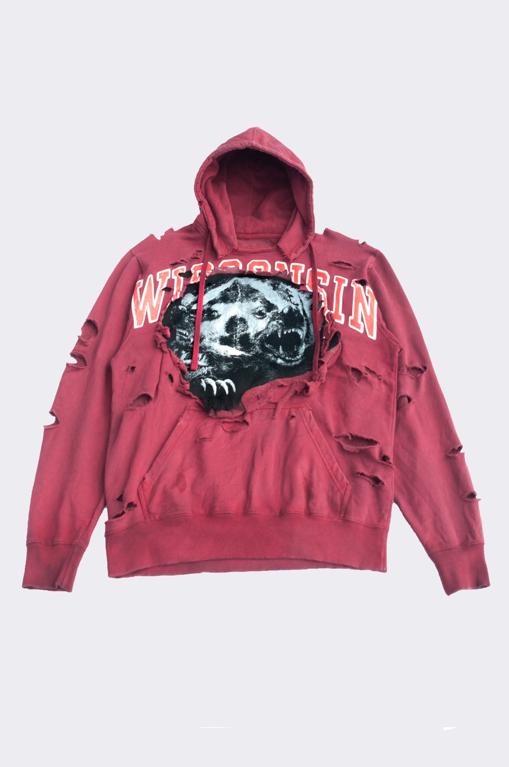 """Image of """"IN A BADGER  STATE"""" Hoodie (1/1)"""