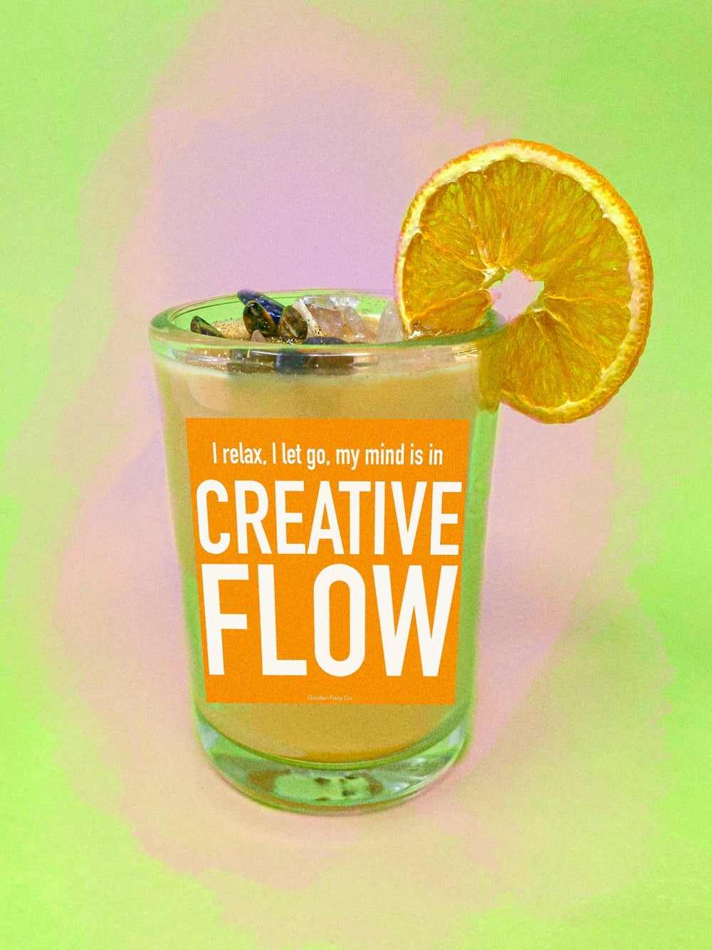 Image of Creative Flow   Intention Ritual Candle