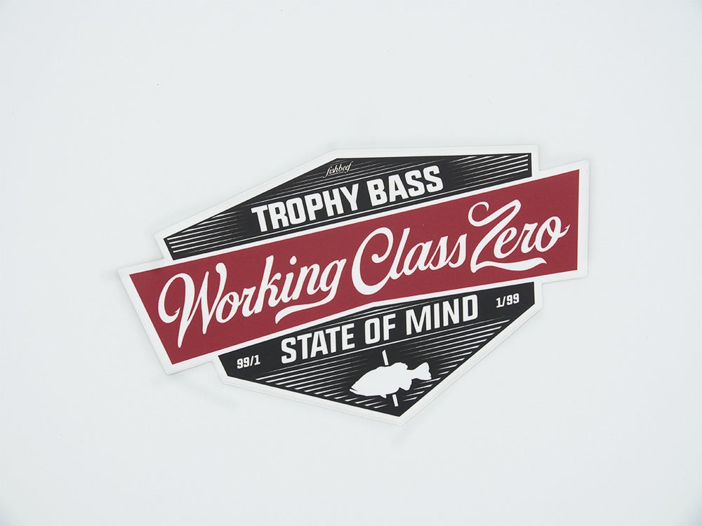 Image of Tradition Sticker (RED)