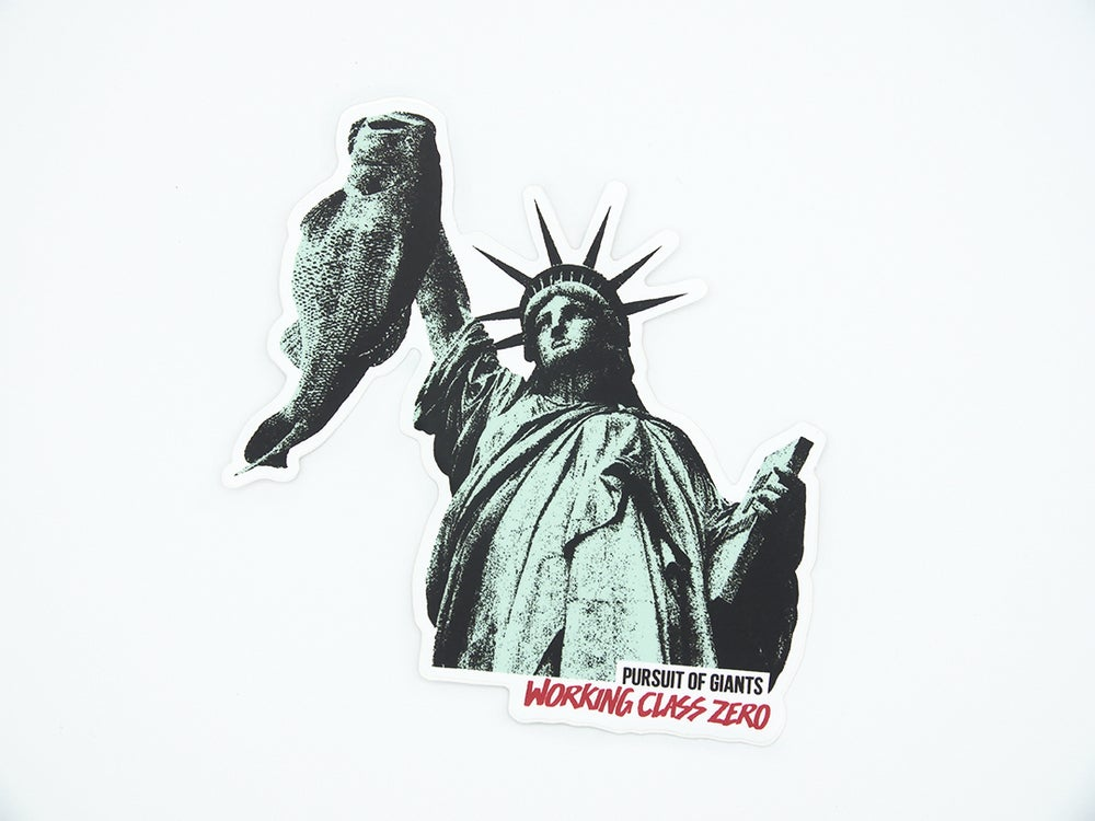 Image of Liberty Bass Sticker