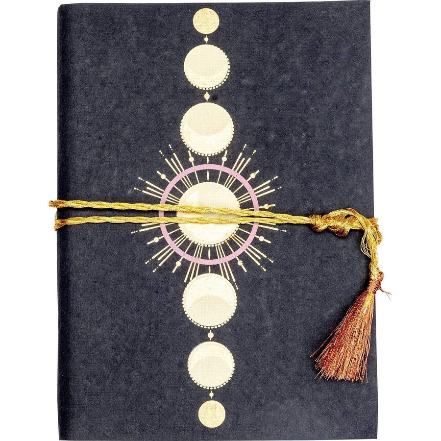 Image of Indukala Journal - Full Moon | FAIR TRADE, ECO-FRIENDLY