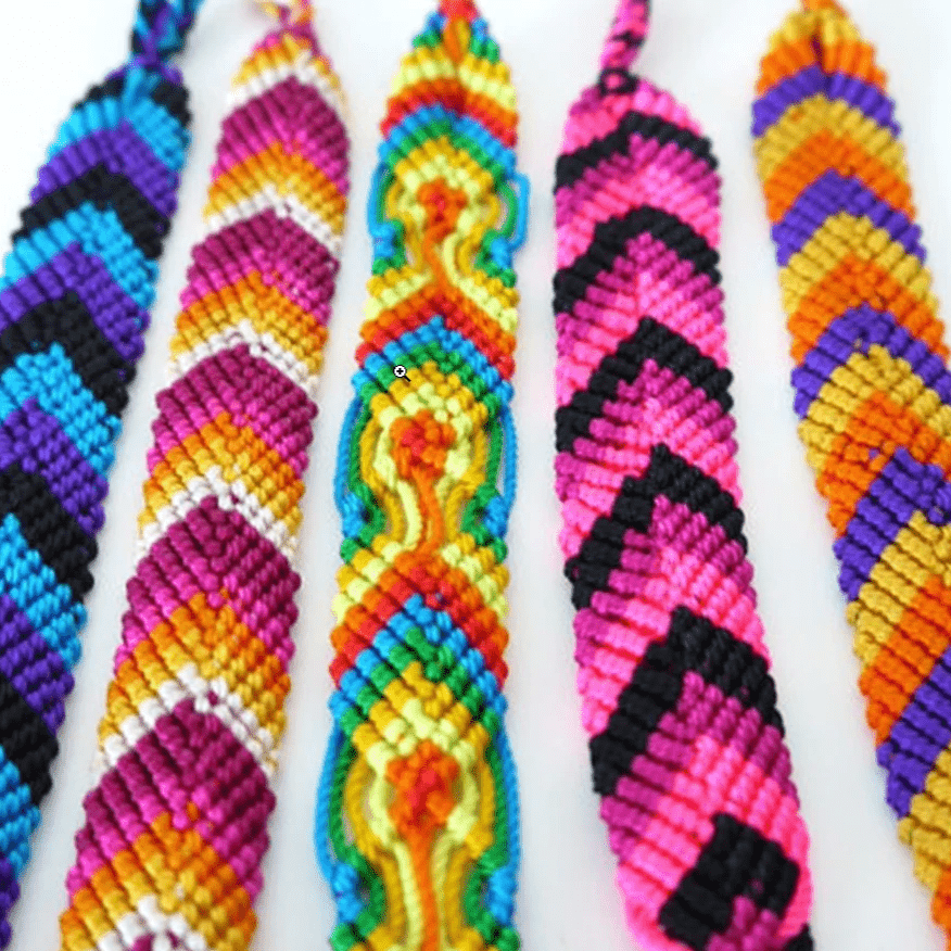 Image of Peruvian Friendship Bracelets