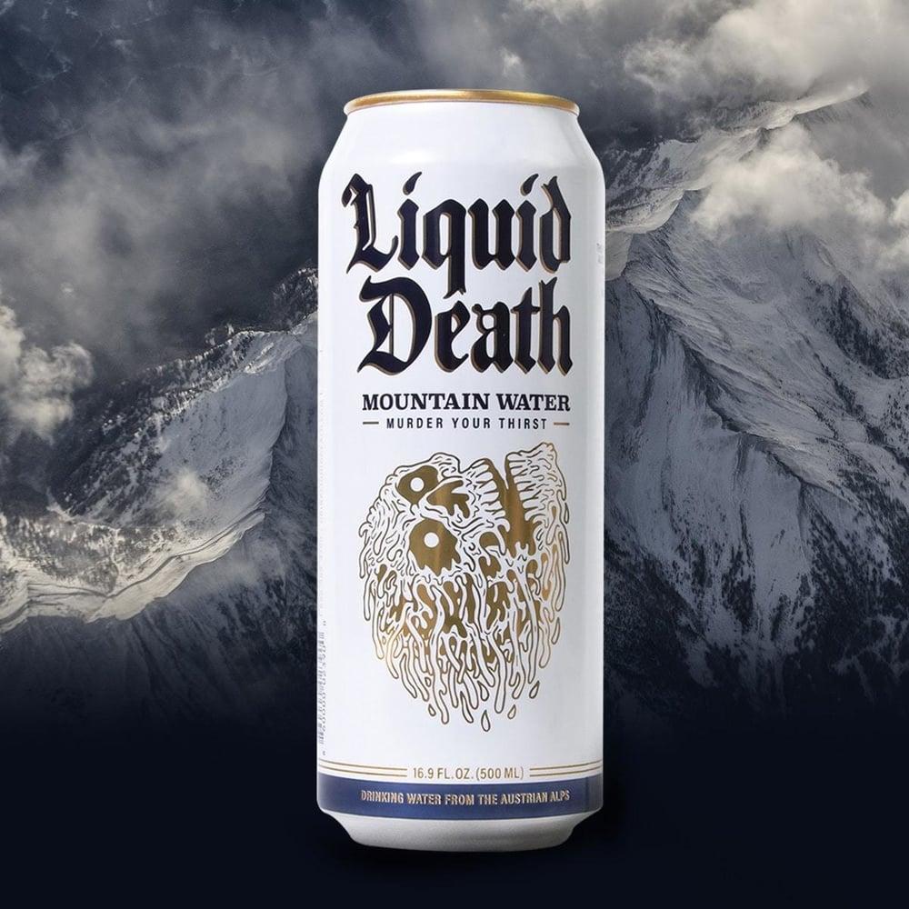 Image of Liquid Death Mountain Water | Tallboys