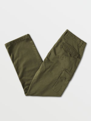 Image of Volcom March Cargo Pants - MILITARY