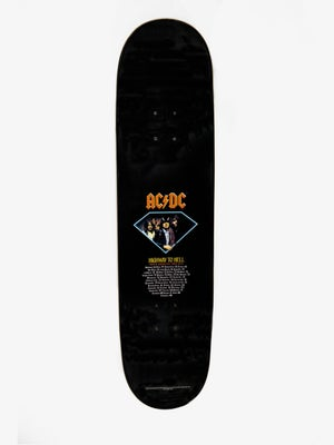 Image of Diamond X ACDC Limited Edition Skateboard Deck 8.25