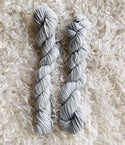 Hand Dyed Wool 8ply, Each 25grams- Duck Egg Blue, Grey Mare, Wild Raspberry & Primrose Pink