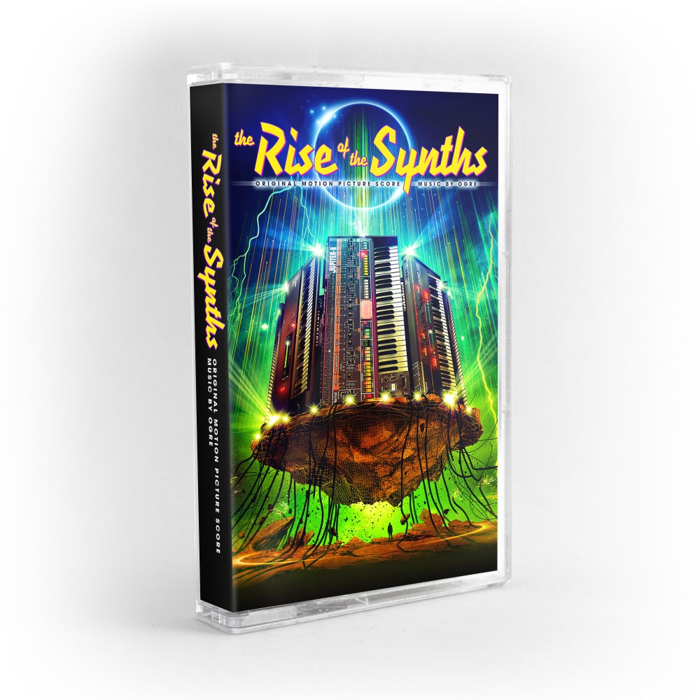 Image of The Rise Of The Synths (Original Motion Picture Score) - Cassette - Ogre