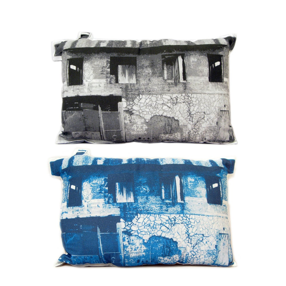 Image of Abandoned House Pillow