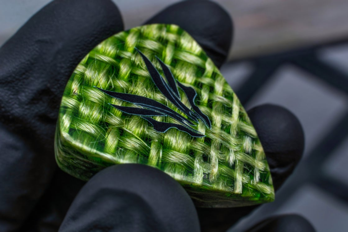 Image of NEW: Limited Edition 8mm 'CANVAS' Anvil plectrums