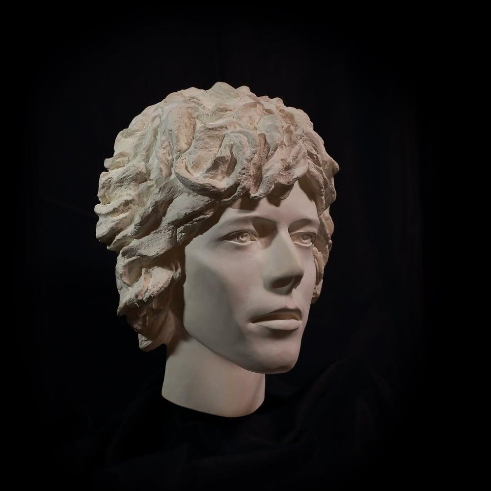 'Space Oddity' Face Sculpture *UK Stock* Marmorino