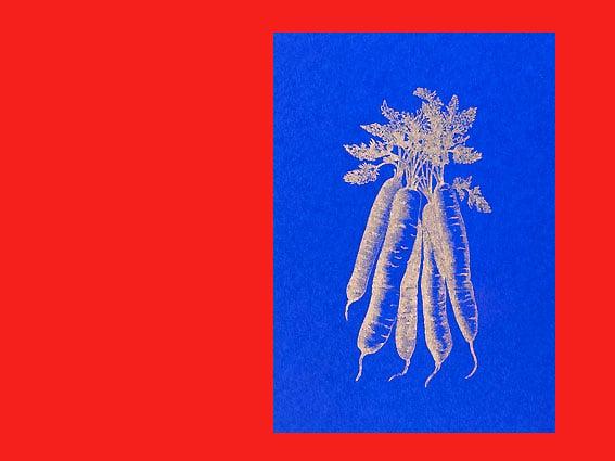 Image of POSTKARTE Goldene Karotte
