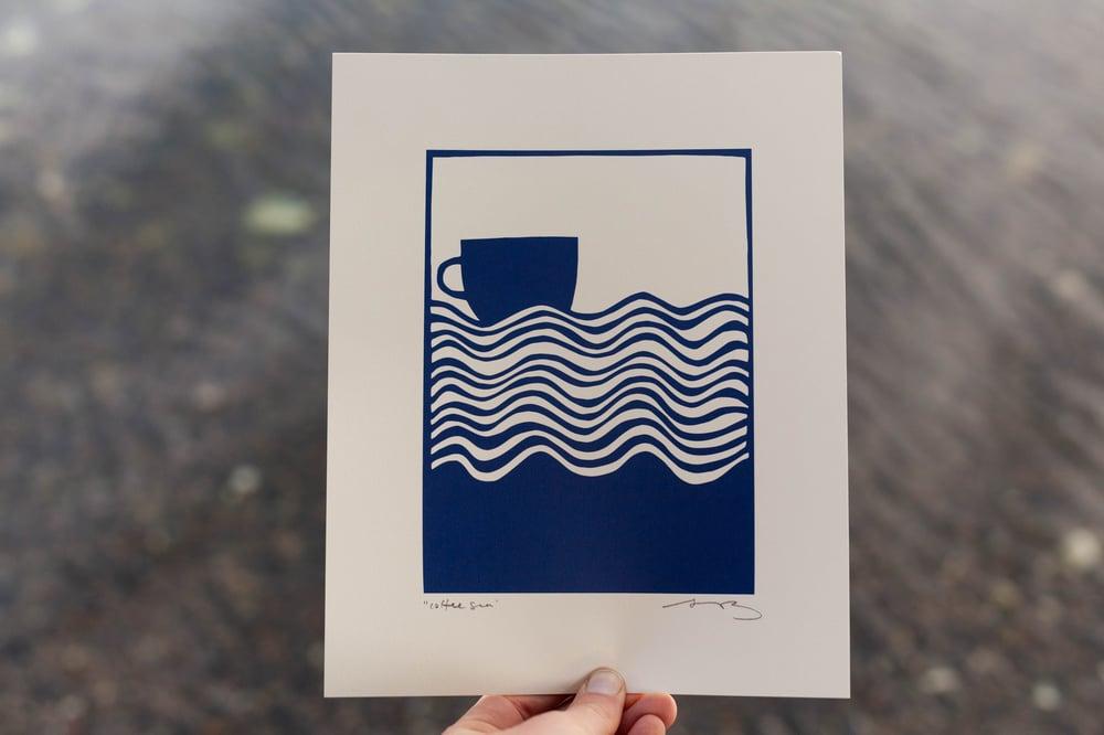 "Image of ""Coffee Sea"" 8x10"" Print"