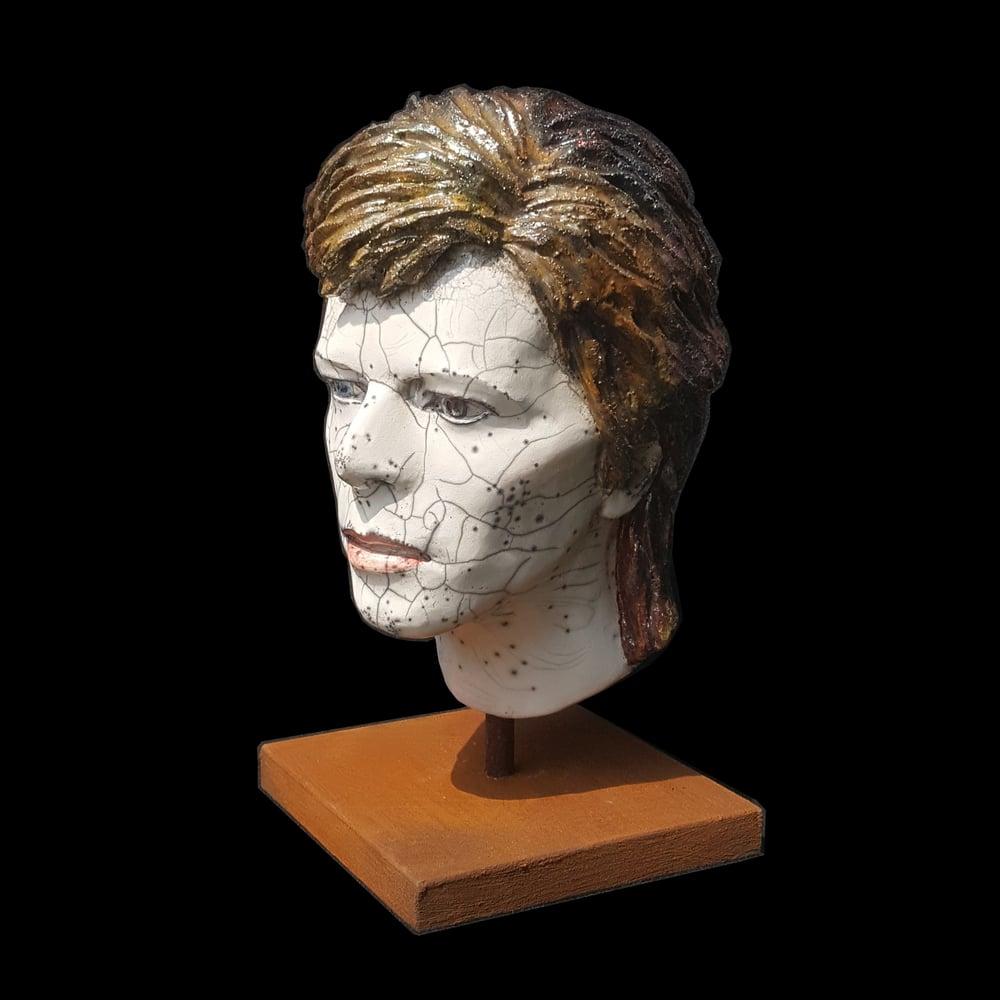 'Ziggy' *UK Stock* Ceramic Sculpture (Unique Raku Piece)