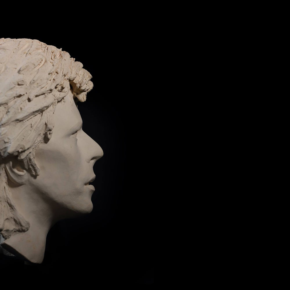 'Ziggy' Face Sculpture *UK Stock* Marmorino